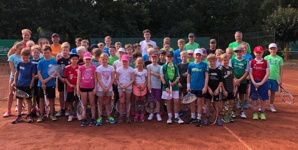 50 Kinder beim Sommercamp auf der Anlage des TC Ostbevern